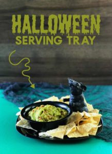 DIY Halloween Serving Tray