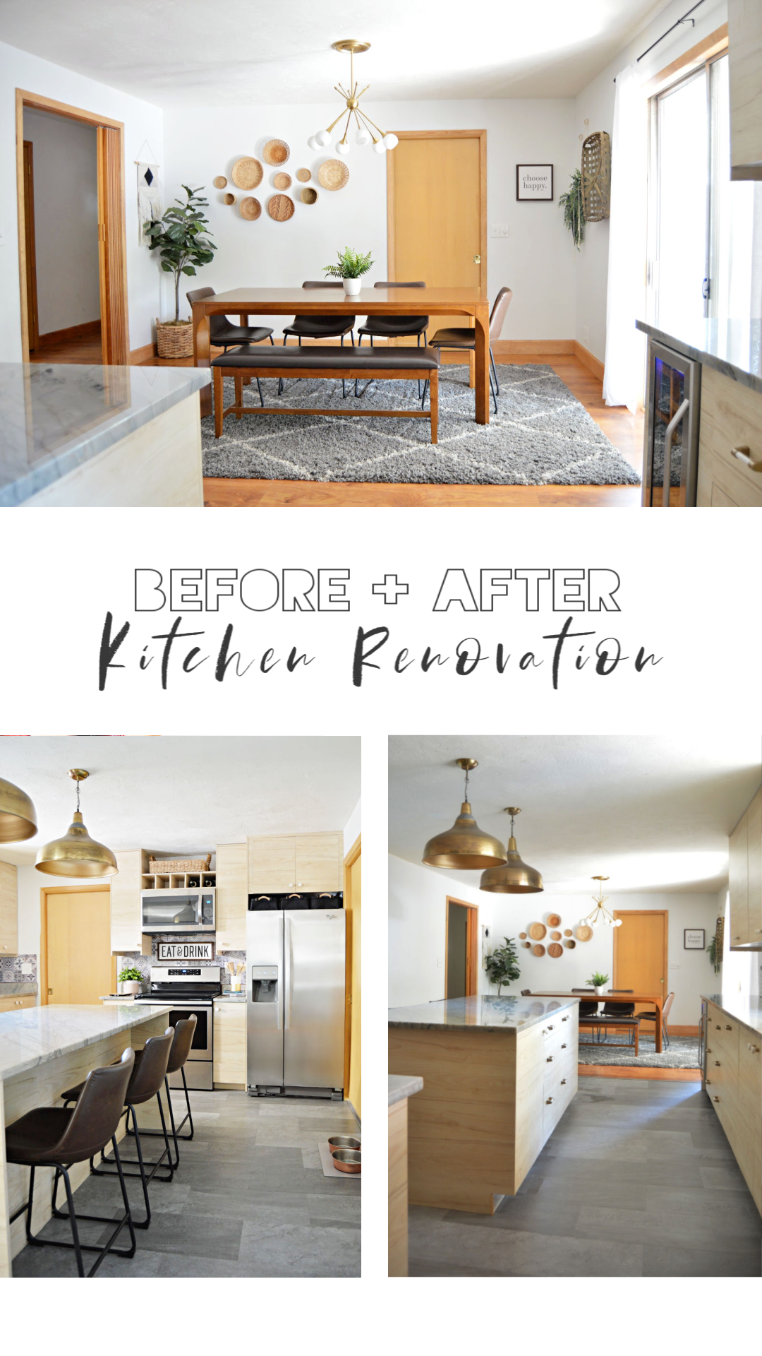 Before and After Kitchen Renovation - Rad + the rest