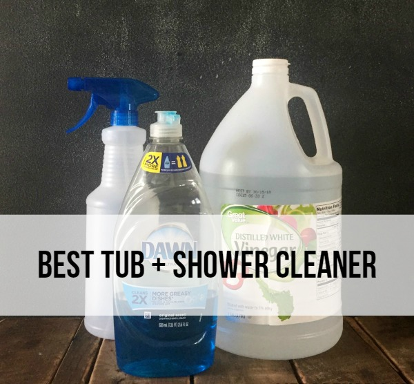 best shower cleaner best tub and shower cleaner rad the rest 30272